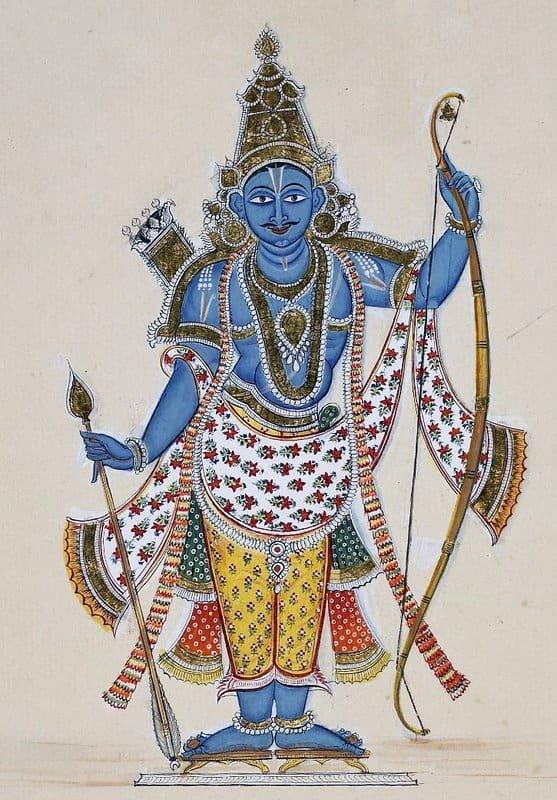 Lord Ram meets Sati