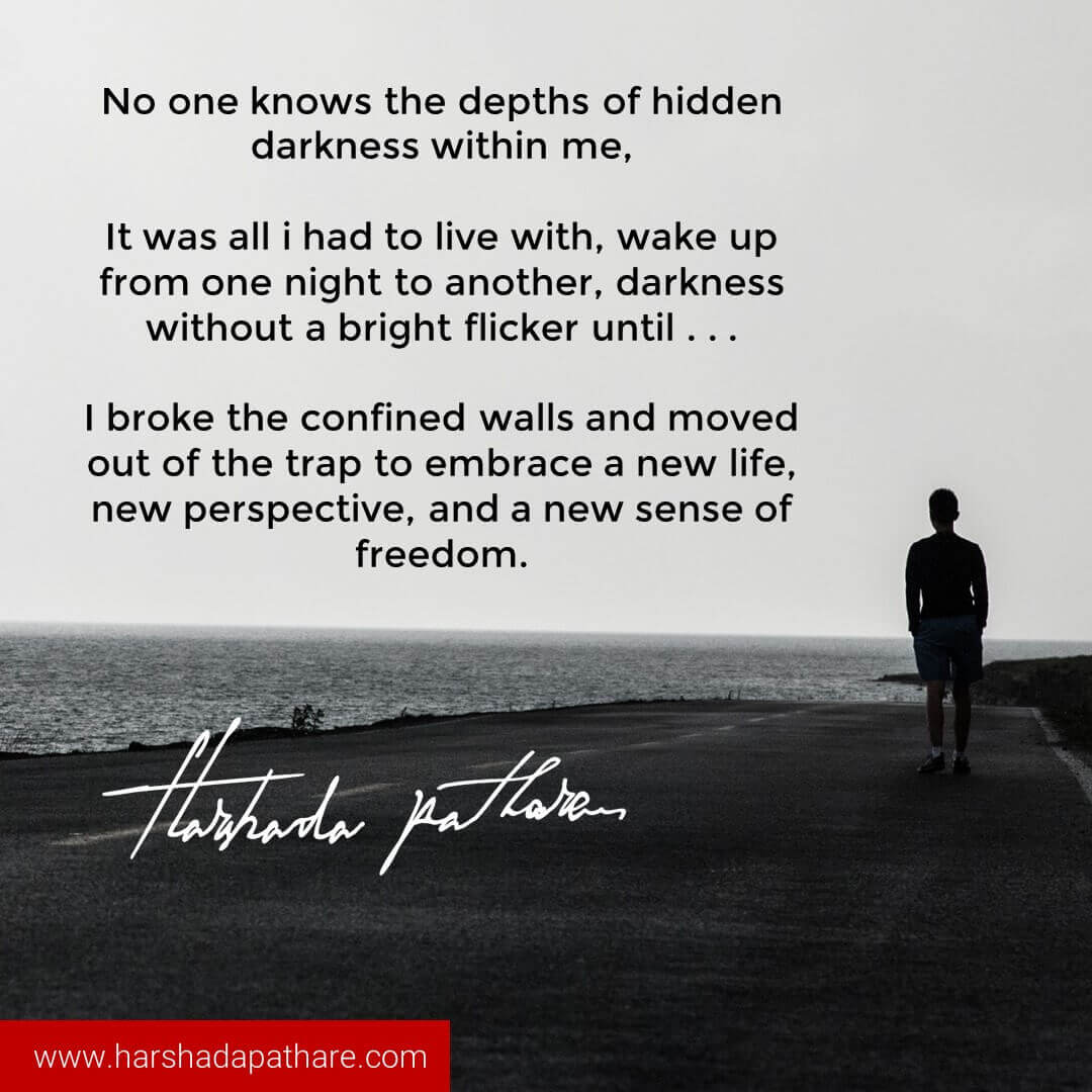 Loneliness Quote | Harshada Pathare I Author and ...